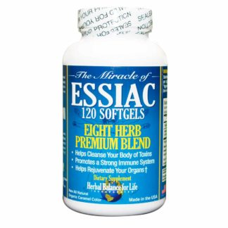 Essiac Soft Gels, 120 count bottle